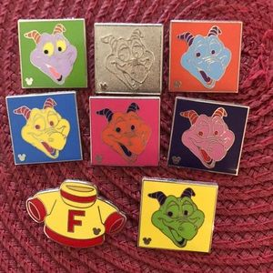 Disney Figment pins